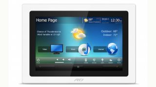 RTI Ships New KX10 In-Wall HD Touchpanel
