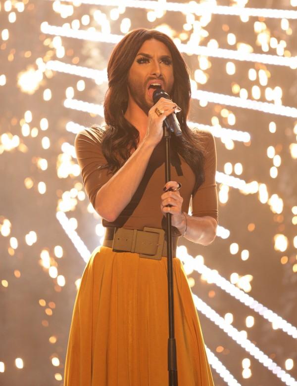 Conchita won the Eurovision Song Contest last year (Yui Mok/PA)
