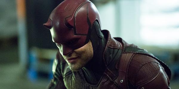 Daredevil in costume