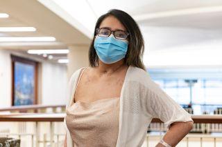 Mayra Ramirez post-surgery