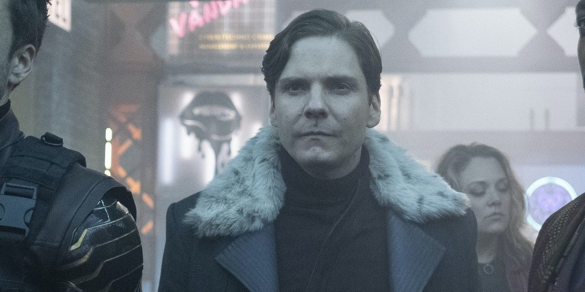 Zemo in the club in The Falcon and the Winter Soldier.