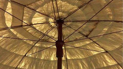 Tiki umbrellas