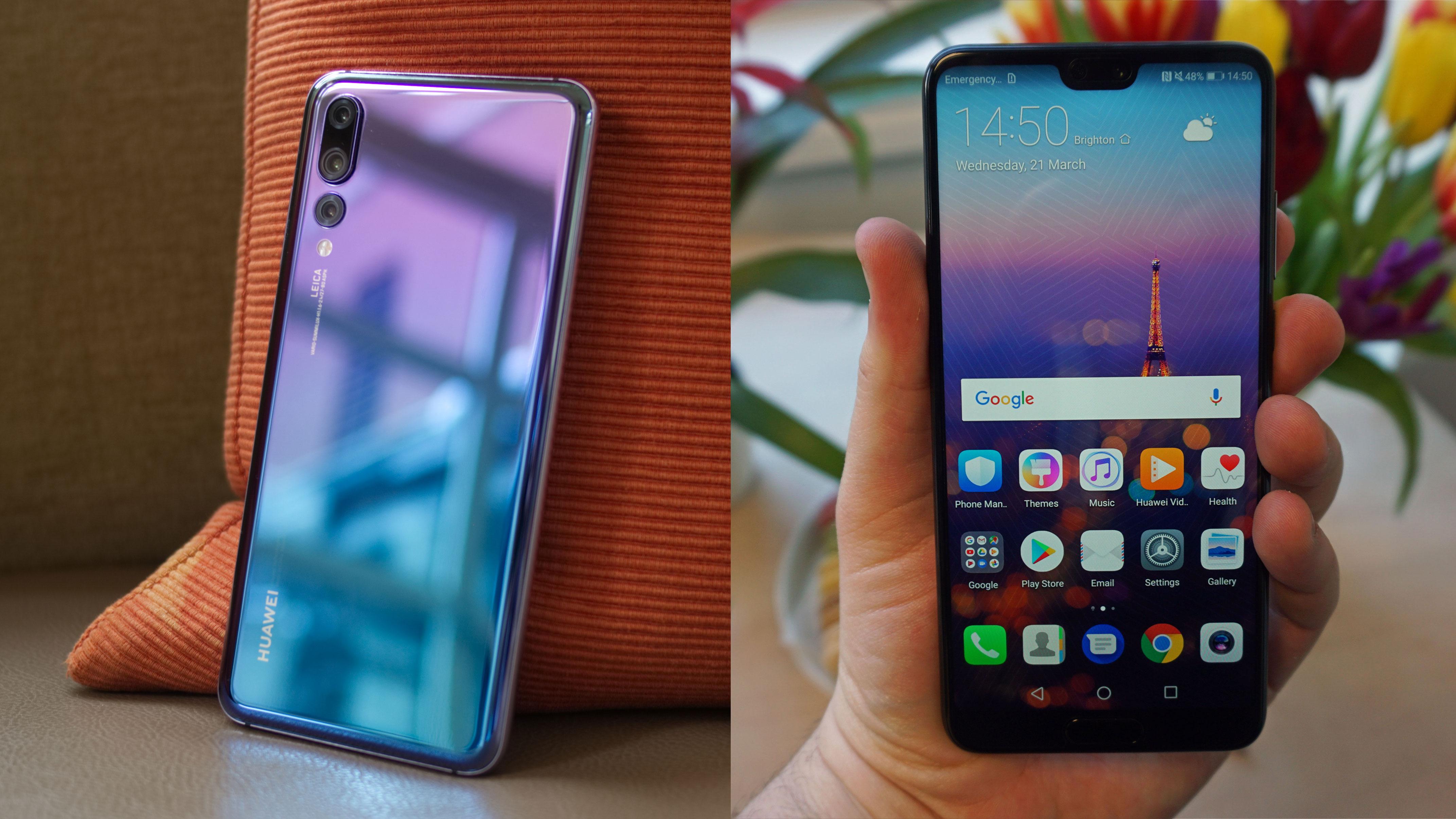Huawei P20 vs Huawei P20 Pro | TechRadar