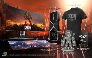 DOOM Eternal GeForce RTX 3080 Ti Demon Slayer Bundle