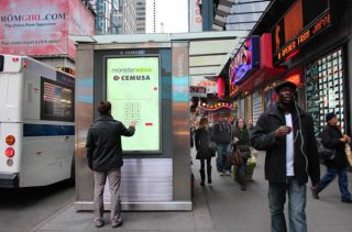 Monster Media, Cemusa Bring Interactive Ads to Times Square Newsstands