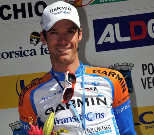 David Millar wins, Criterium International 2010, stage 3 ITT