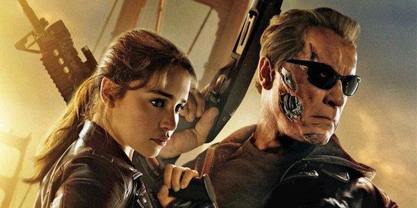 Terminator Genisys Promo Image with Emilia Clarke