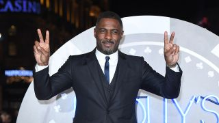 Potential new James Bond Idris Elba wearing a suit. That is all.