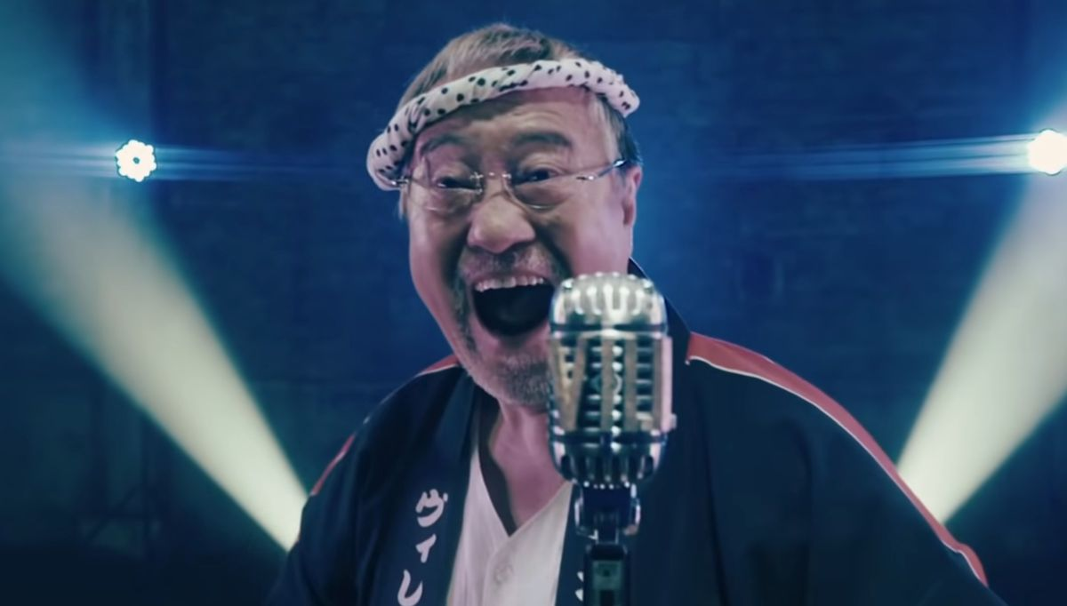 Watch a Japanese grandfather sing traditional 'enka' music in this wild Resident Evil Village ad