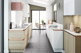 These stylish kitchen designs will help you make the most of a small area