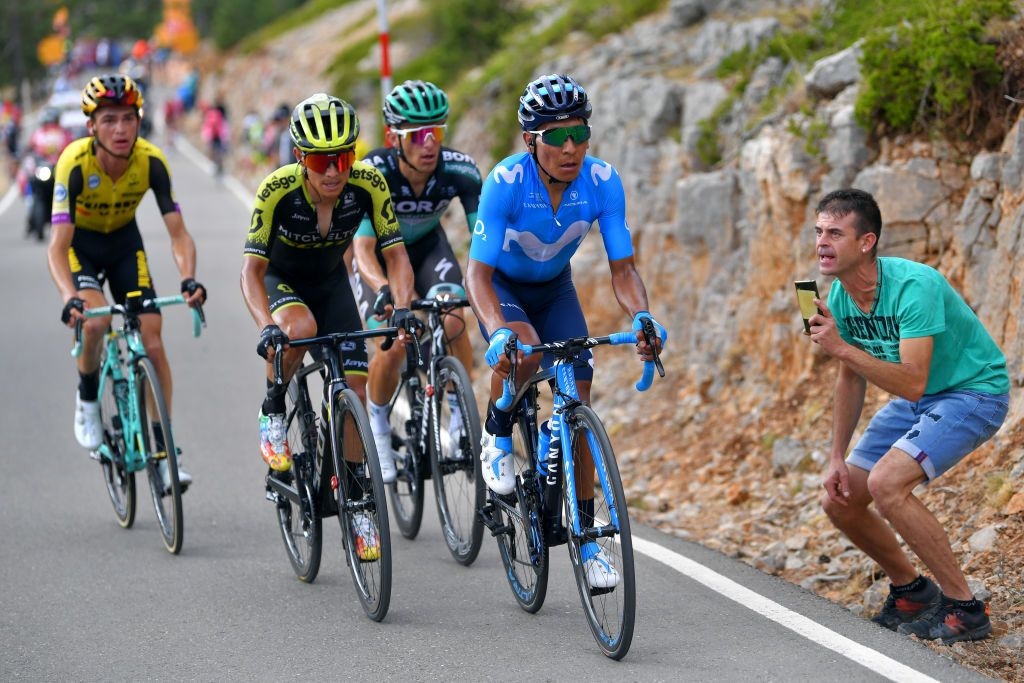 Quintana insists that Valverde is Movistar's Vuelta a Espana leader