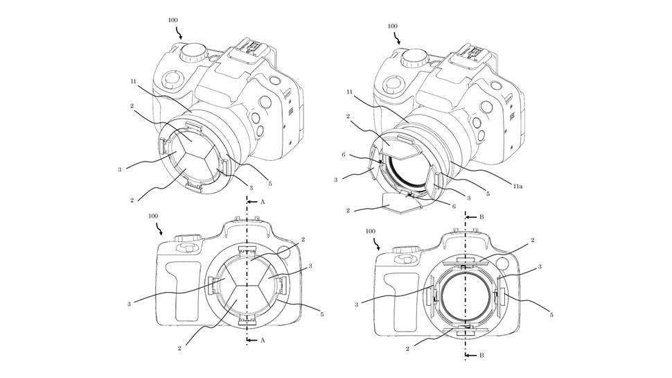 """Canon might have just solved the """"lost lens cap"""" problem 