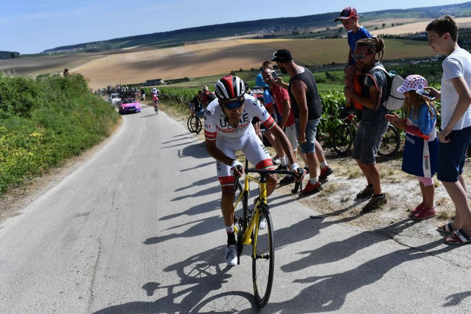 'I couldn't really pedal': Fabio Aru on the moment he had to use a neutral service bike
