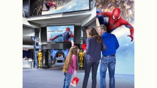 Barco Creates Immersive Lobby Solution for Movie Theater