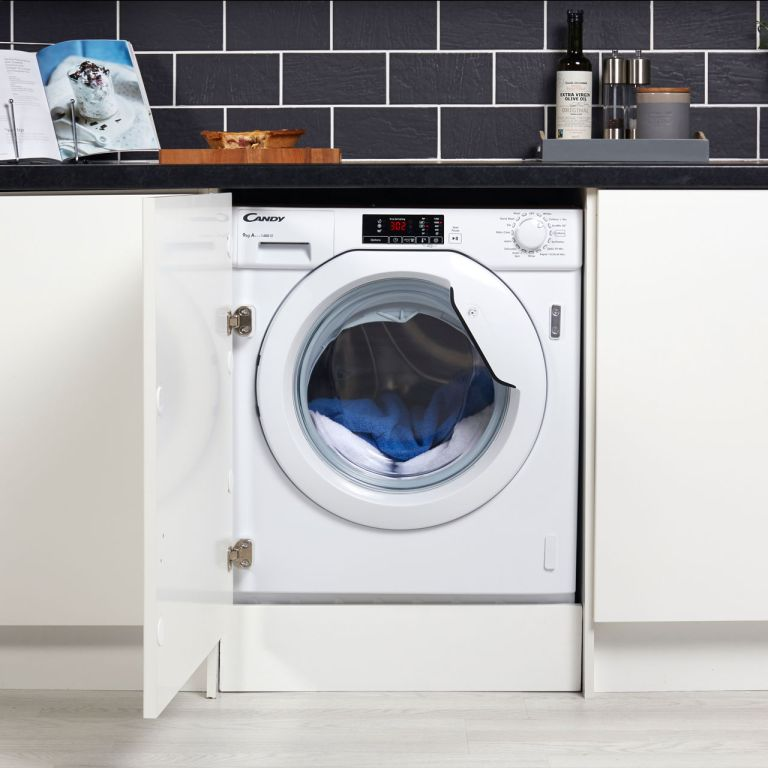 Best washing machine: Candy CBWM914D Integrated 9Kg Washing Machine with 1400 rpm - A+++ Rated