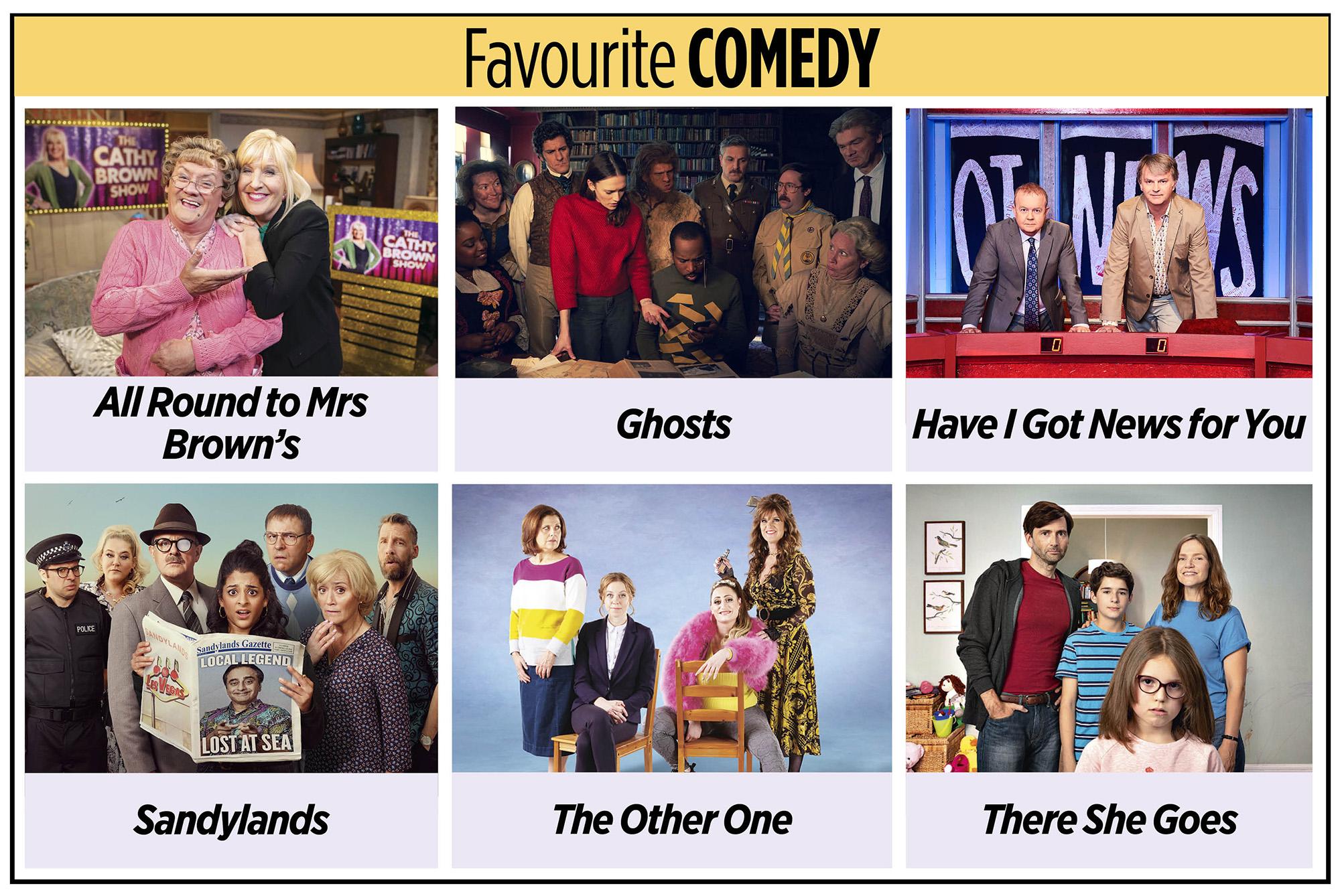 Comedia favorita de los TV Times Awards 2020