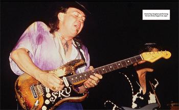 Last Gigs Stevie Ray Vaughan