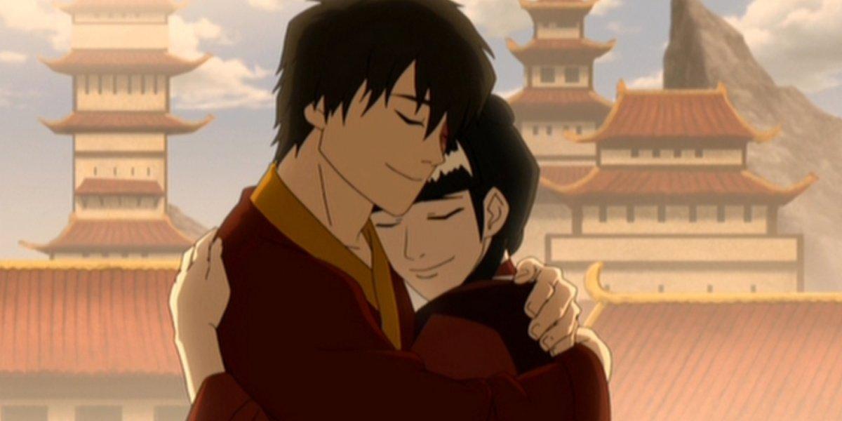 Zuko and Mai in Avatar: The Last Airbender.