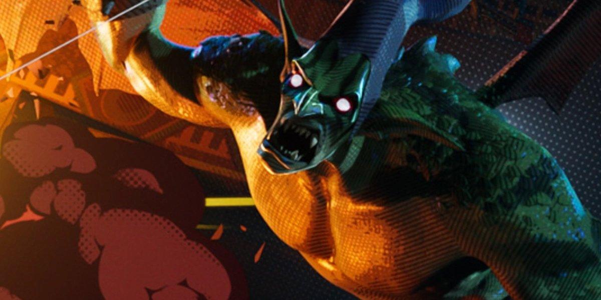 Spider-Man Into The Spider-Verse Green Goblin