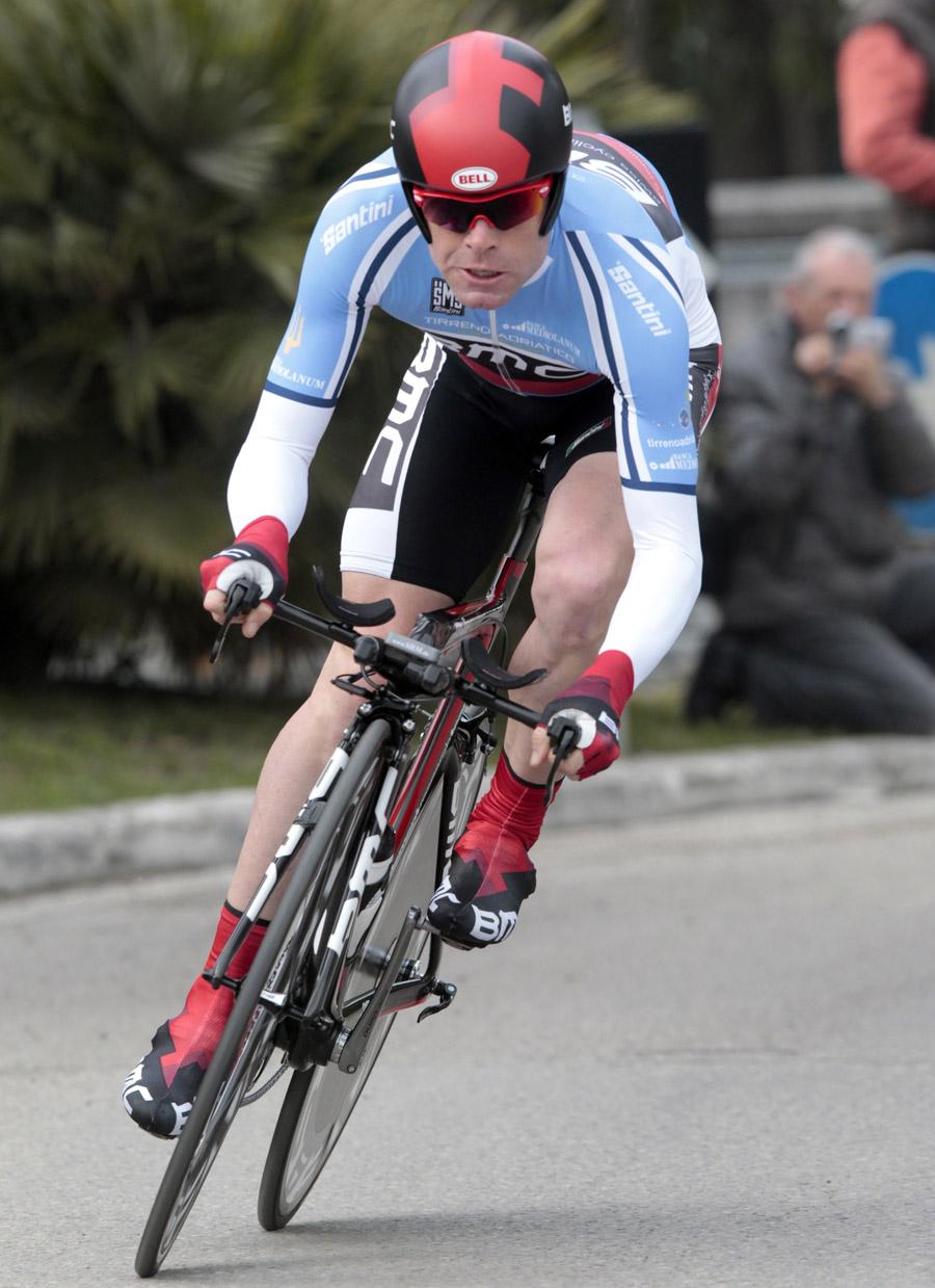 Cadel Evans, overall winner, Tirreno-Adriatico 2011, stage seven
