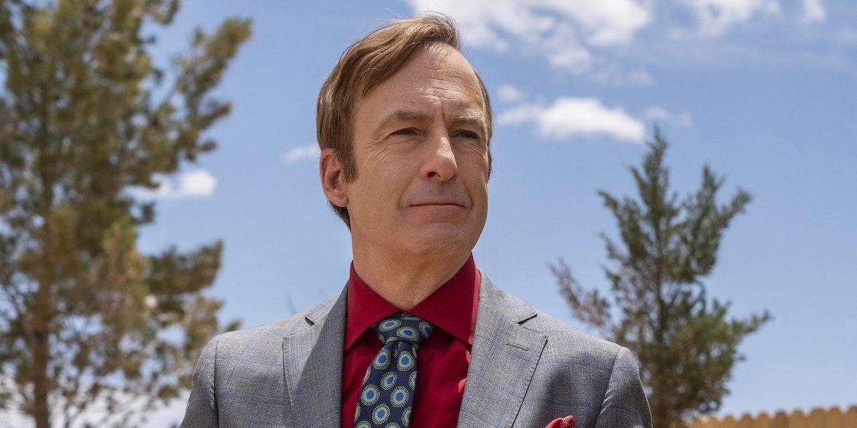 Jimmy McGill (Bob Odenkirk) stands tall on Better Call Saul