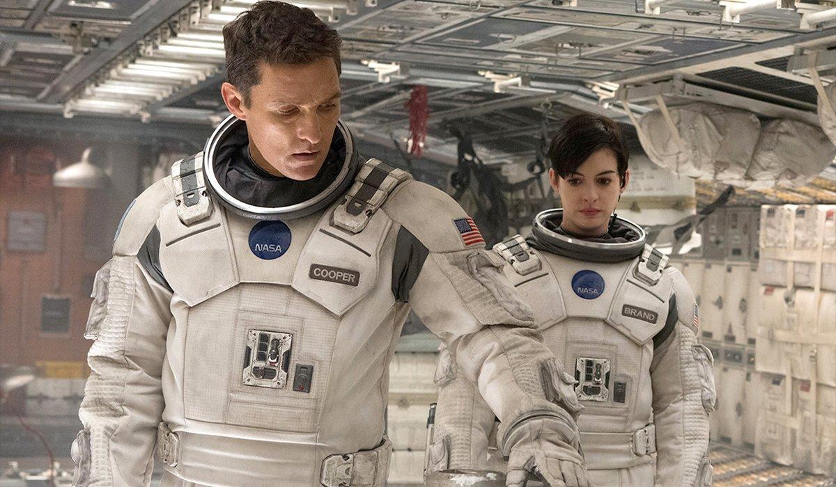 Interstellar Matthew McConaughey Anne Hathaway