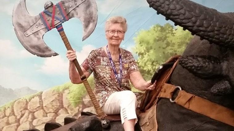 Resultado de imagen para Fans want Bethesda to make 'Skyrim grandma' an Elder Scrolls 6 NPC