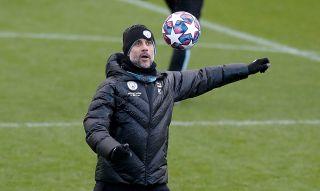 Manchester City Training – City Football Academy