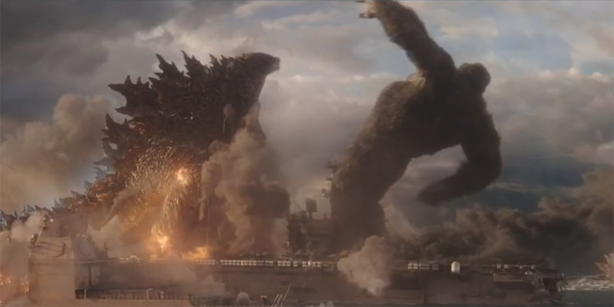 Godzilla vs Kong godzilla slaps Kong