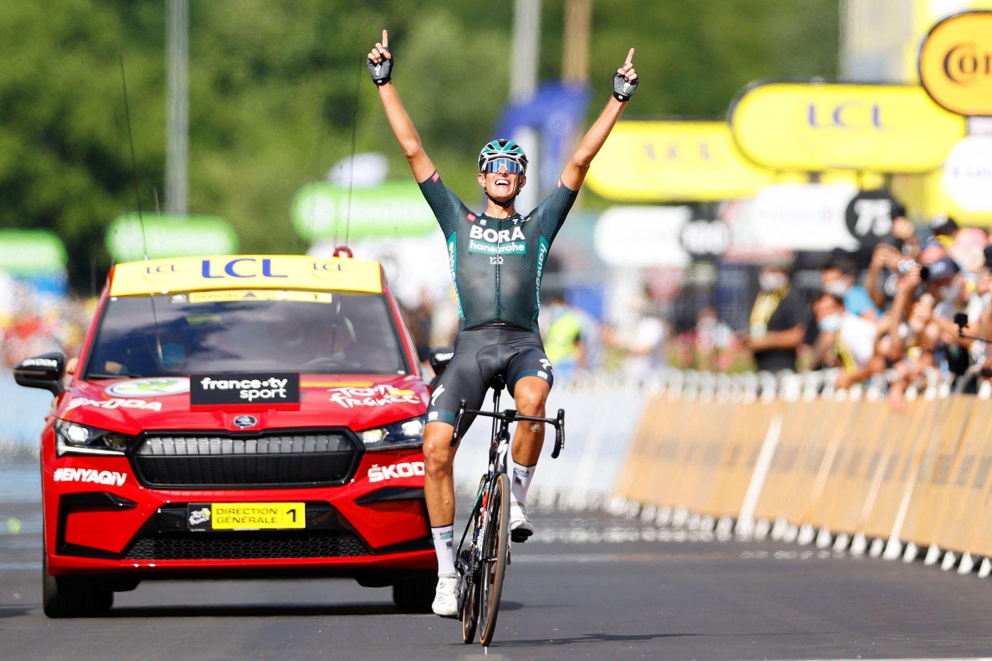 Nils Politt wins stage 12 of the 2021 Tour de France
