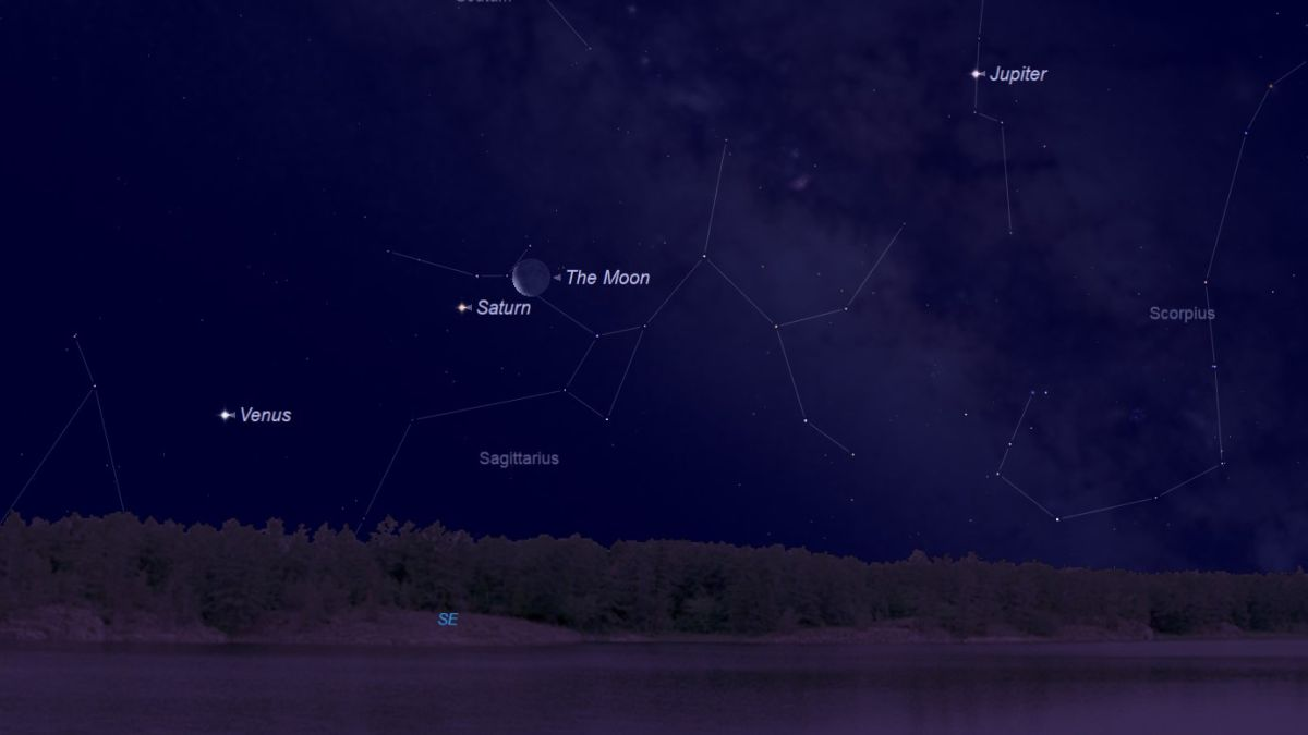 It's a Planet Party! See Venus, Saturn and Jupiter with the