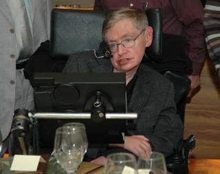 Stephen Hawking in 2006.