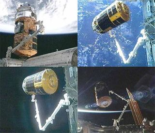 First Japanese Cargo Ship Leaves Space Station