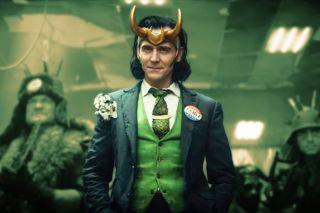 Loki (Tom Hiddleston) is up to mischief again.