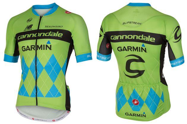 Cannondale-Garmin reveal special edition Tour de France kit ... 0f7689a40