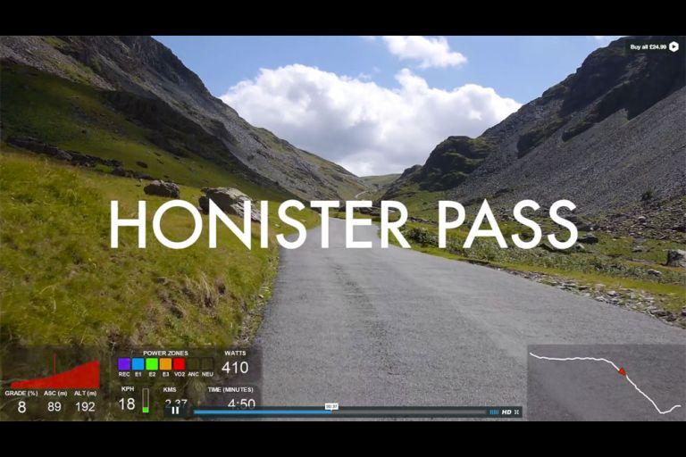 100 Greatest Cycling Climbs HD video still