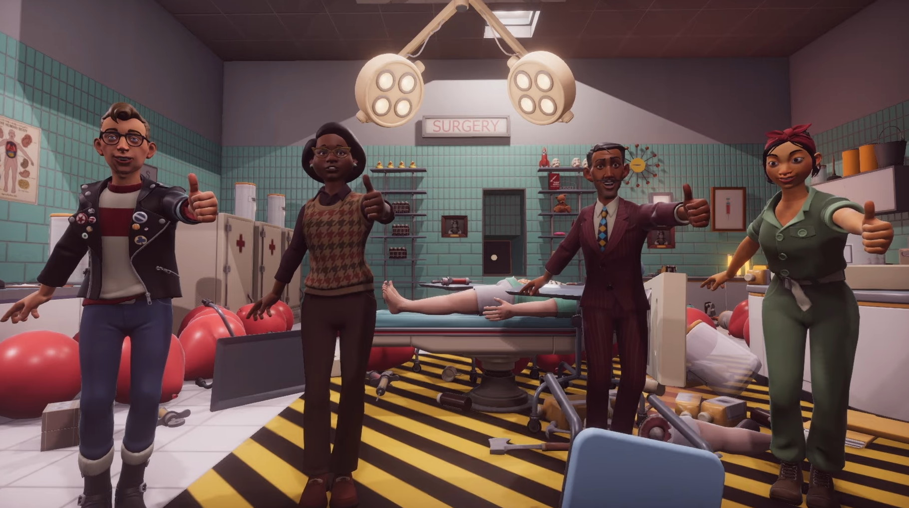 Surgeon Simulator 2 Gets A Release Date And A Bonkers New Trailer Pc Gamer