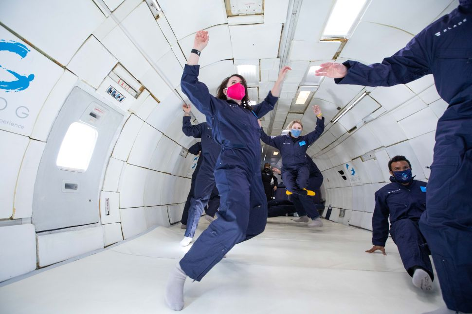 I flew weightlessly on a Zero-G plane and it was nothing like I expected