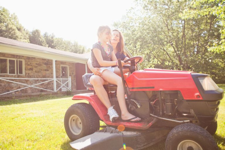 best ride-on lawn mowers to splurge on this summer