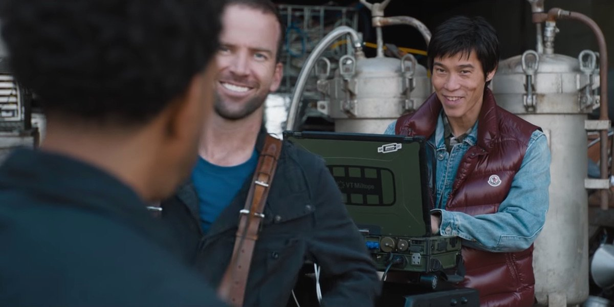 Sean Boswell as Lucas Black in Fast and Furious 9