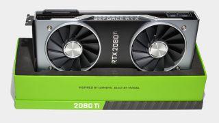 Nvidia RTX 2080 Ti graphics card in box