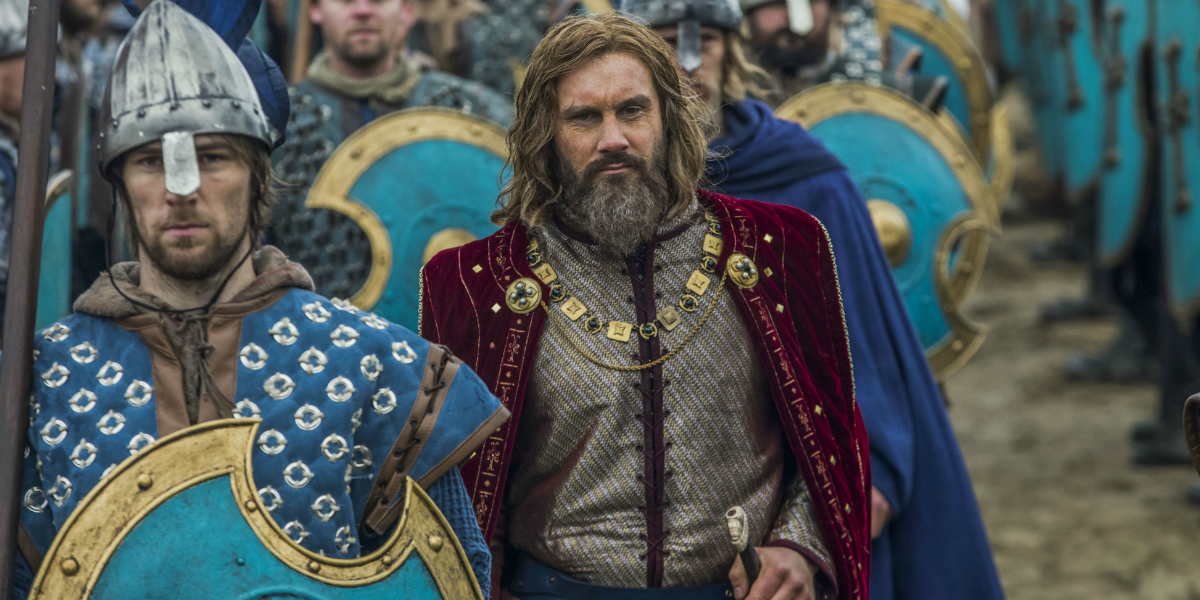 Vikings Rollo Clive Standen History