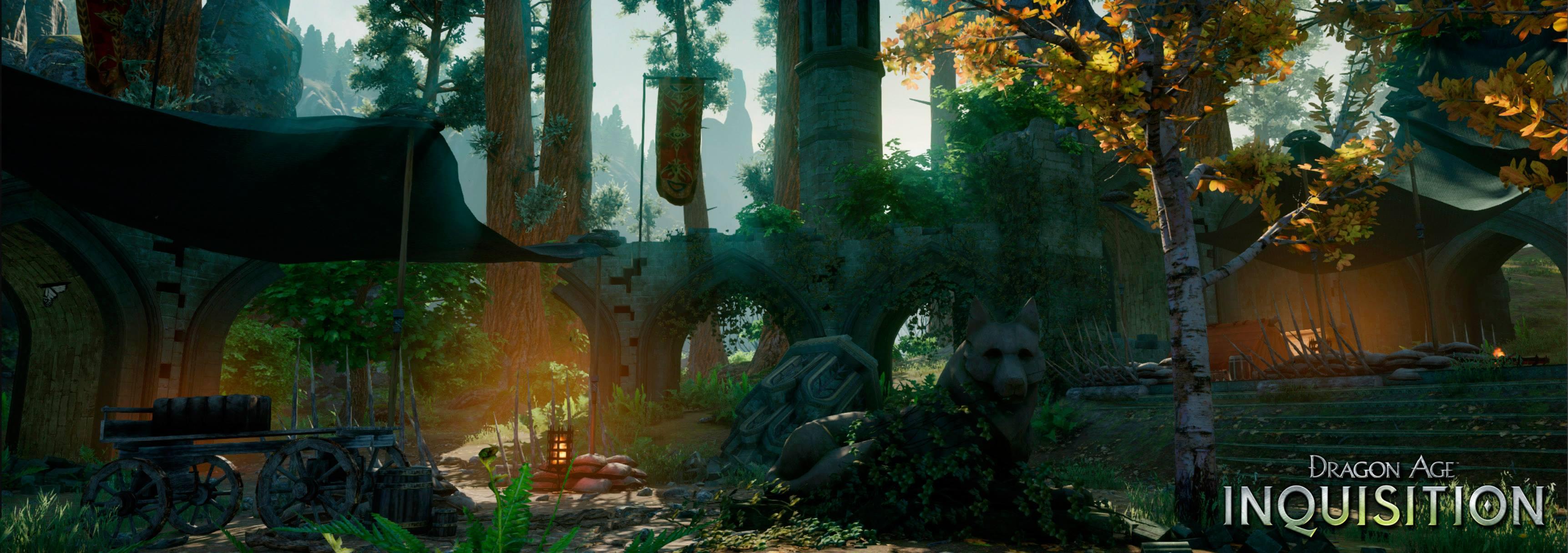 Dragon Age: Inquisition Screenshots Enter Emerald Graves, Empire du Lion #31367