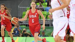 Sue Bird Team USA basketball