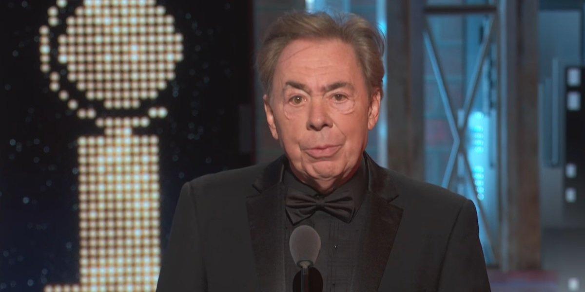 Andrew Lloyd Webber Wins Lifetime Achievement Tony Award