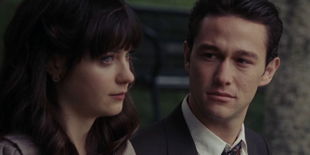 Zooey Deschanel and Joseph Gordon-Levitt in 500 Days of Summer