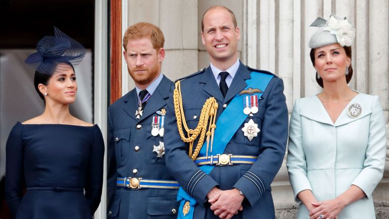 Prince Harry Prince William Meghan Markle and Kate Middleton