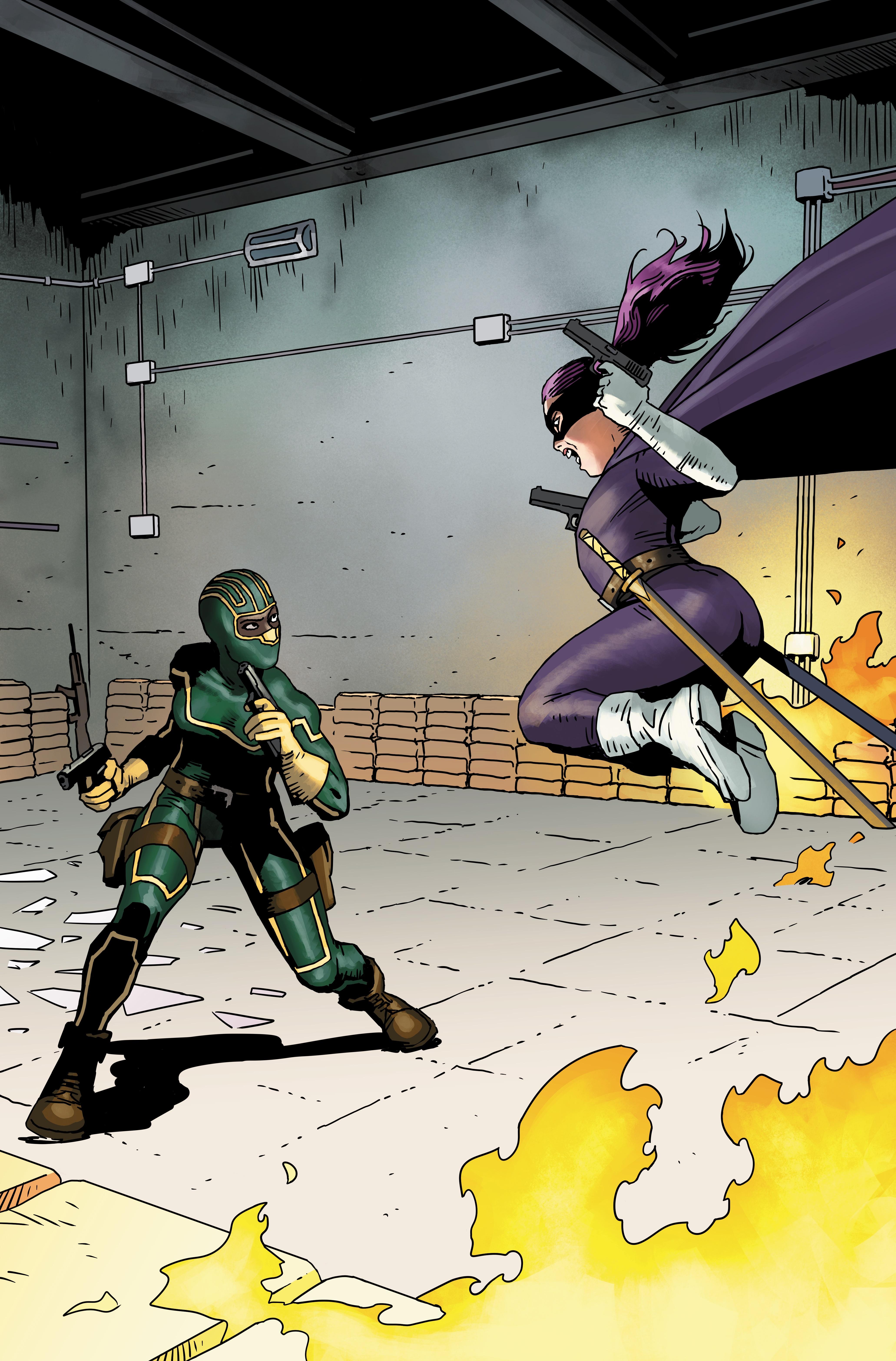 Kick-Ass contro Hit-Girl