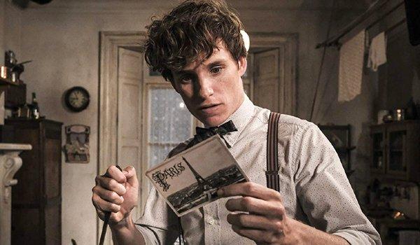 Eddie Redmayne as Newt Scamander in Fantastic Beasts The Crimes of Grindelwald
