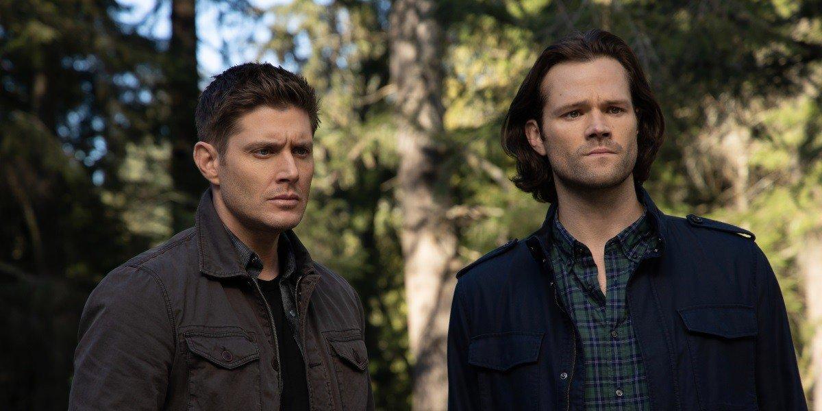 Dean and Sam in Supernatural.